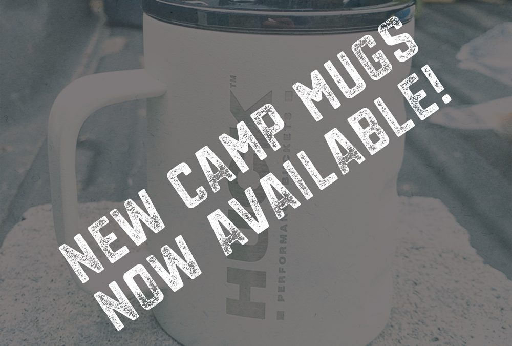 New HUCK Camp Mug Colorways Now Online!