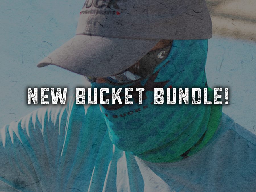 Introducing The HUCK Bucket Bundle with Face Shield